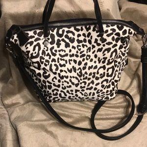 Kate Landry calf hair purse